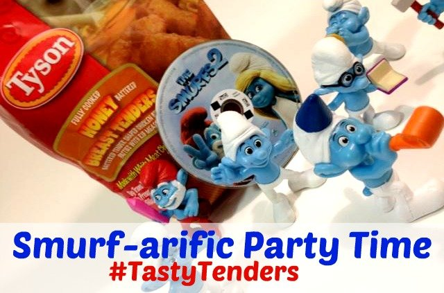 Smurfs 2 Family Movie Night #TastyTenders #shop #cbias