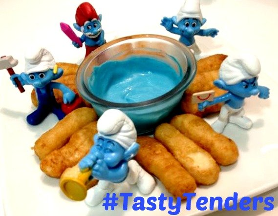 Smurfs and #TastyTenders #shop #cbias