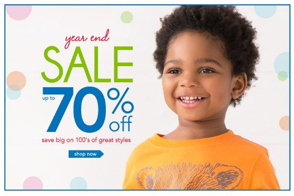 Year End sale at Carter's #CartersFam #sponsored #MC