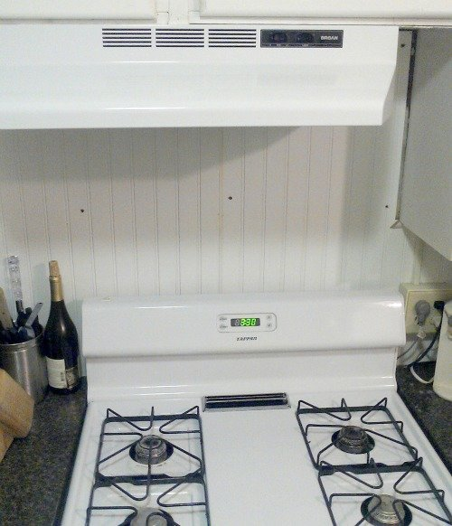 clean stove and vent