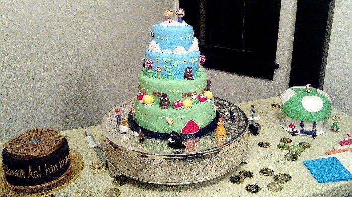 Cakes for the Gamer Wedding #GamerWedding