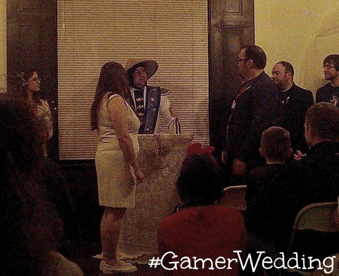 Gamer Wedding ceremony #GamerWedding