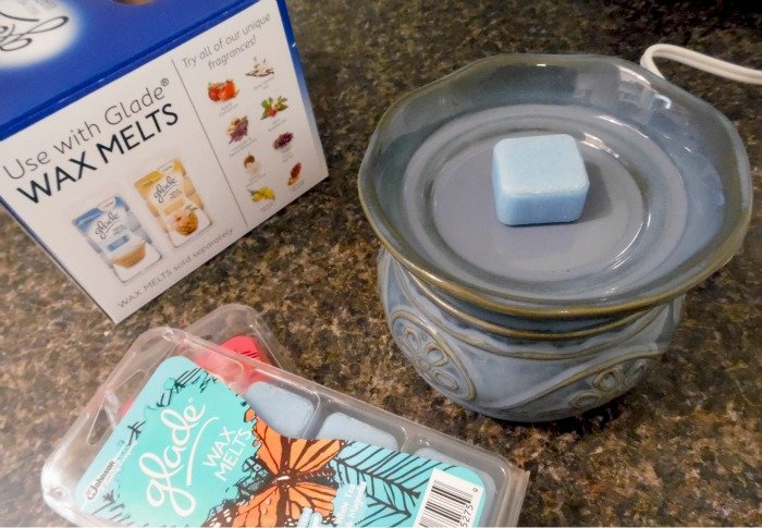 Glade wax melts and melter #MeltsBestFeelings #shop #cbias