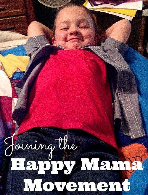 Joining the Happy Mama Movement #whoisthisboy #happymamas