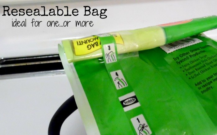 Tyson Grilled and Ready resealable bag #JustAddTyson #shop #cbias
