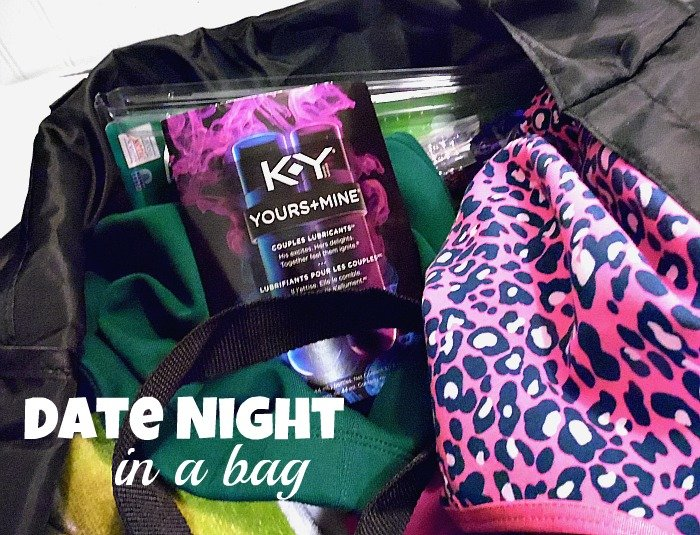 Date night in a bag, for a hotel #KYdatenight #ad #cbias