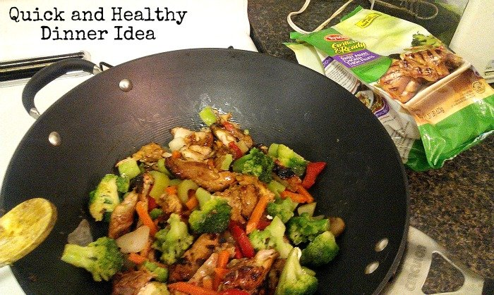 quick and healthy dinner idea with Tyson Grilled and Ready #JustAddTyson #shop #cbias