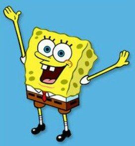 SpongeBob image for invitation {How to Make a SpongeBob SquarePants invitation}
