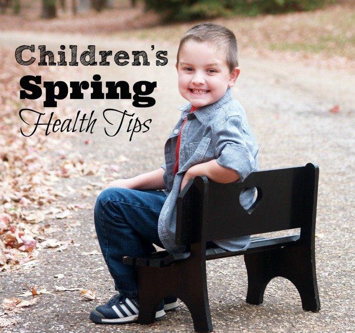 Children's Spring Health Tips