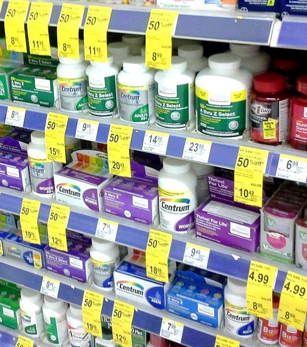 Vitamins #WellatWalgreens #shop #cbias