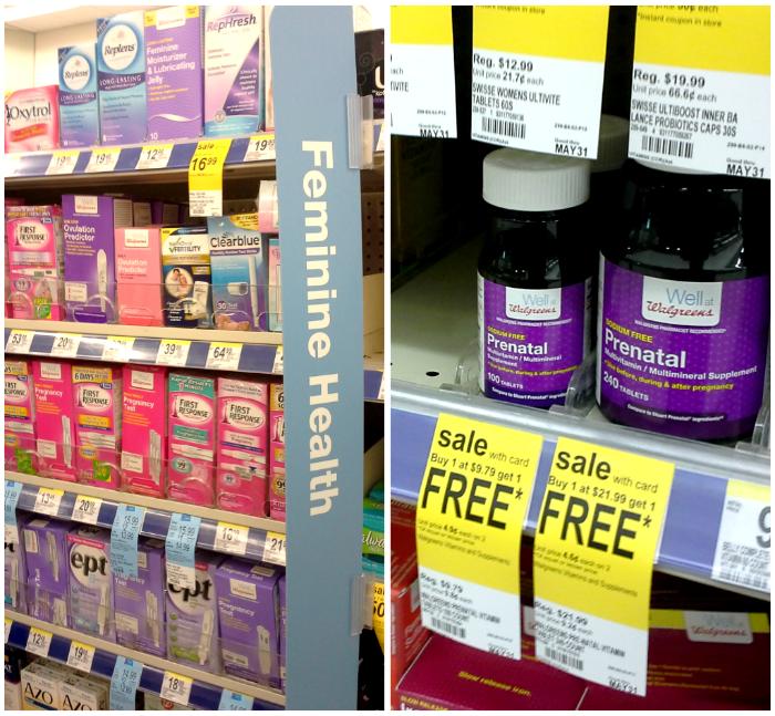 Women's health at Walgreens #HerHealth #shop #cbias