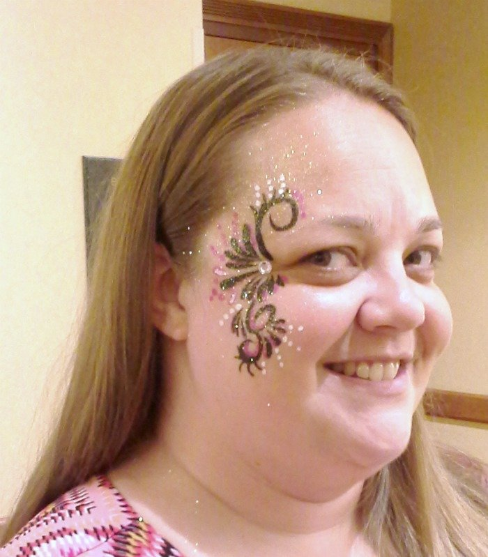 Face painting by make-n-faces.com at #SoFabCon14