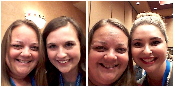 Meeting Bailey Carroll and Annette McCormick at #SoFabCon14 #SoFabSelfies