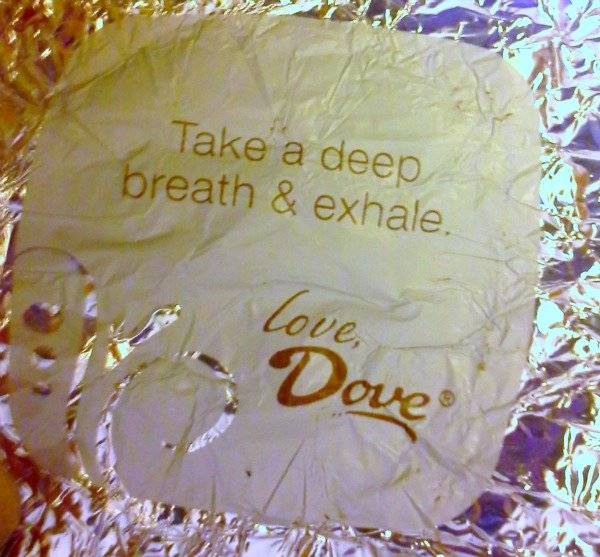 Take a deep breath & exhale - Love, Dove #SoFabSweets #SoFabCon14