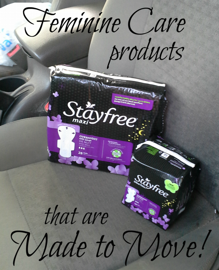 Feminine Care products that are Made to Move #shop #CollectiveBias