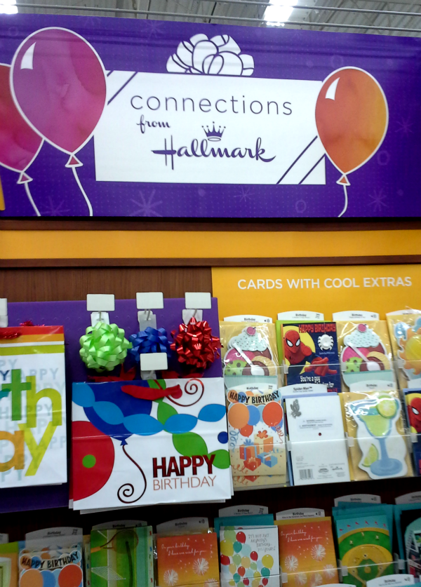 Hallmark cards in Walmart #KidsCards #shop #cbias