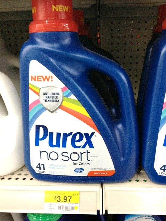 Purex® No Sort™ for Colors laundry detergent #LaundrySimplified #shop #CollectiveBias