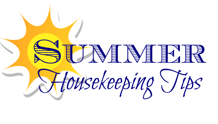 Summer Housekeeping Tips #LaundrySimplified #shop #CollectiveBias