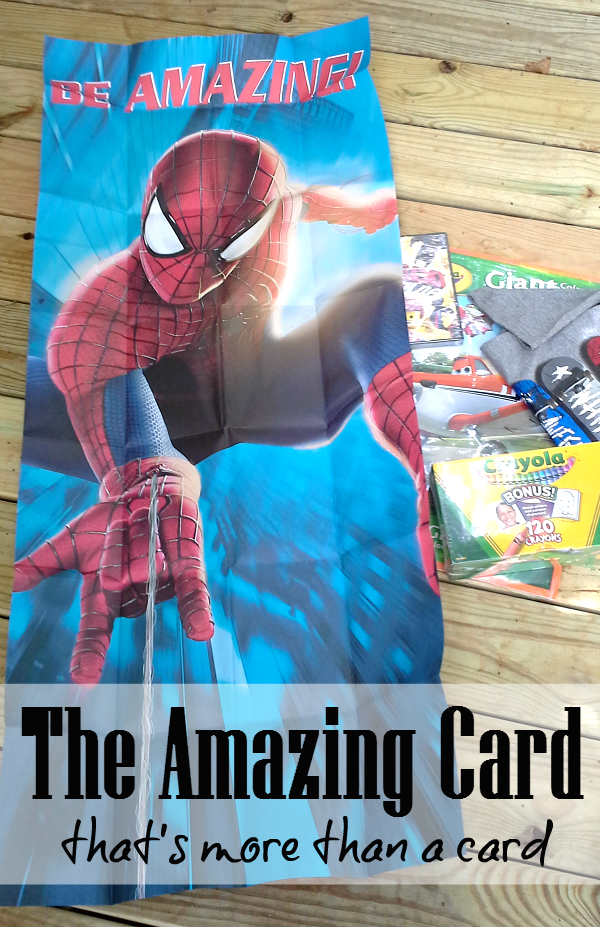 The Amazing Card from Hallmark - A poster card! #KidsCards #shop #cbias