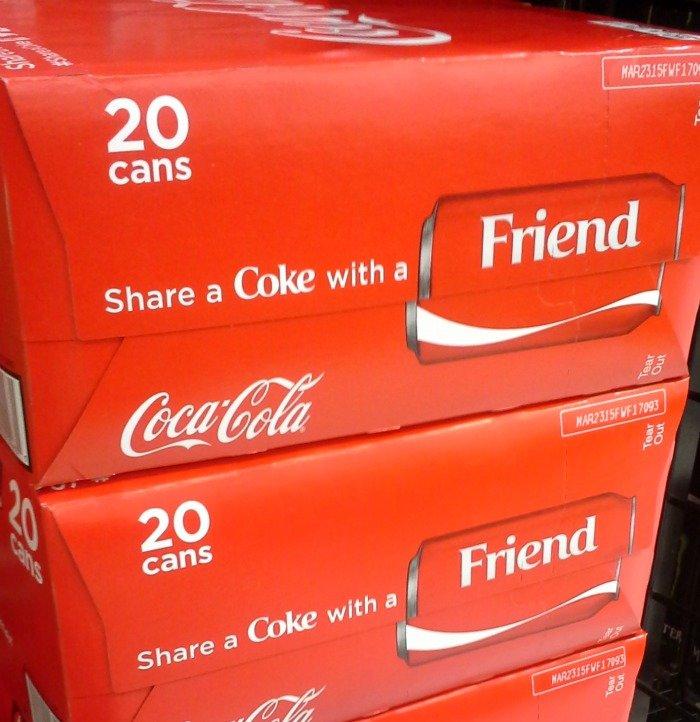 Share a Coke with a Friend #ShareItForward #shop #CollectiveBias