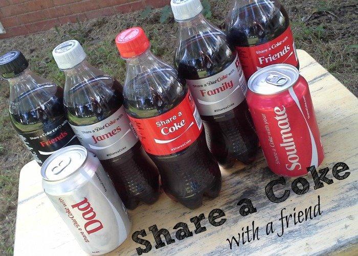 Share a Coke with every friend #ShareItForward #shop #CollectiveBias