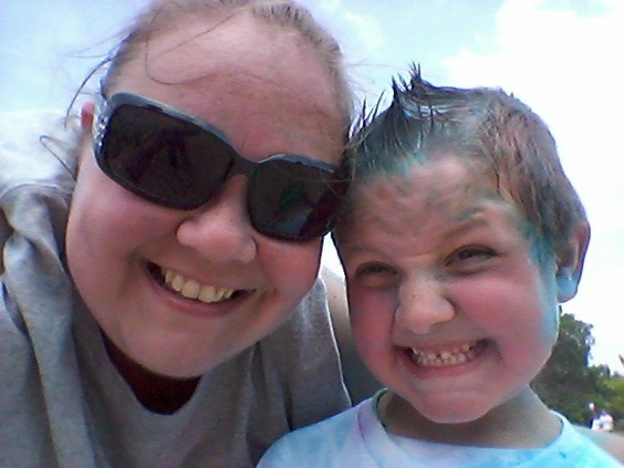 after the Color Run