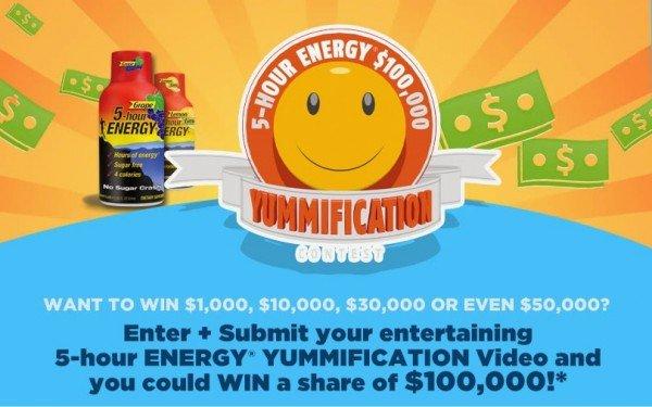 5-hour ENERGY Yummification contest