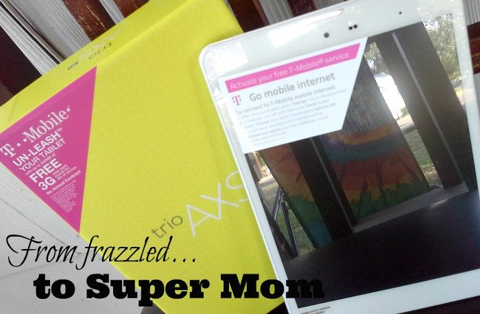 From Frazzled to Super Mom #TabletTrio #shop #CollectiveBias