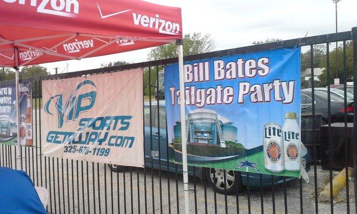 Bill Bates Tailgate Party #GoVerizon