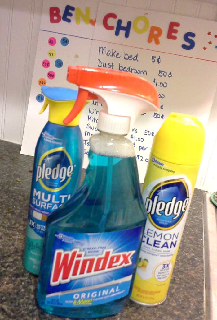 Windex and Pledge #InstaClean #CollectiveBias #shop