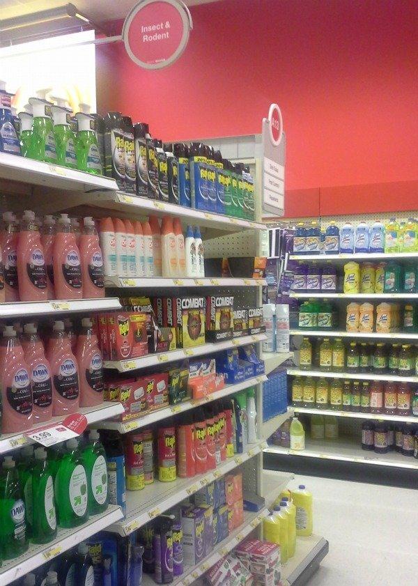 Pest Control aisle at Target #shop #CollectiveBias