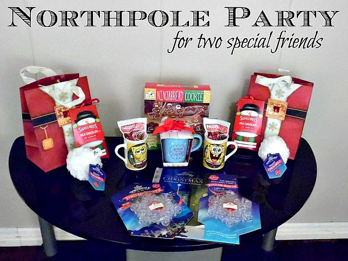 Hallmark's Northpole movie inspired this Northpole Party #NorthpoleFun #CollectiveBias #ad