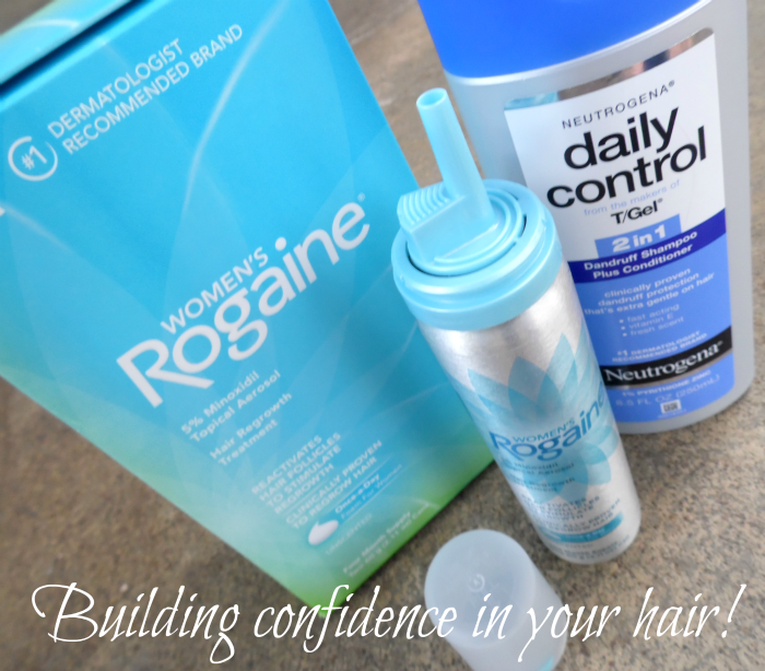 Grow thicker and more voluminous hair with Rogaine for Women #MoreIsBeautiful #CollectiveBias #ad