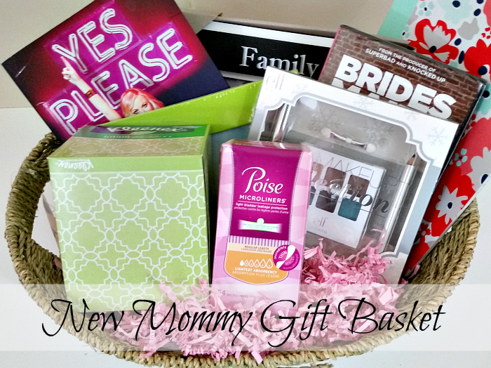 (non-traditional) New Mommy Gift Basket #LifesLittleLeaks #ad
