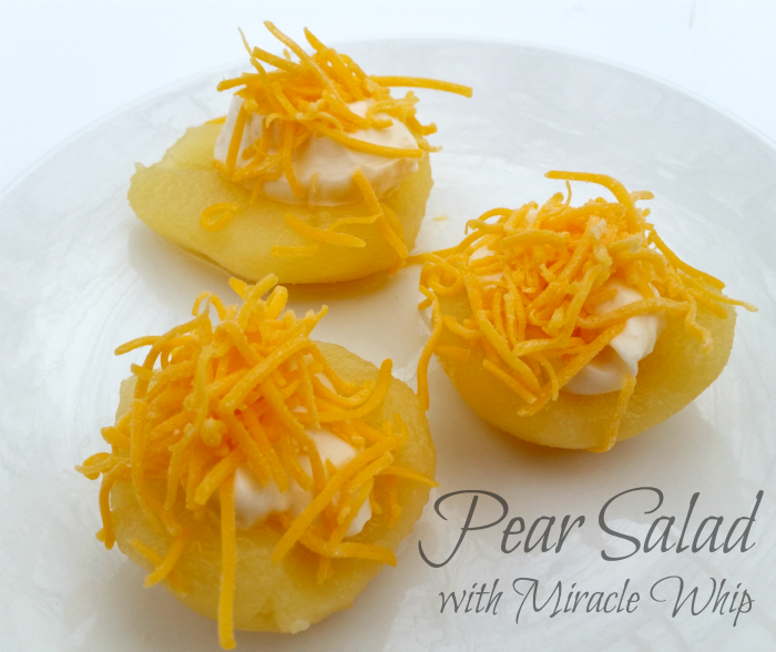 Pear Salad with KRAFT MIRACLE WHIP #TasteTheMiracle #CollectiveBias #ad #cbias