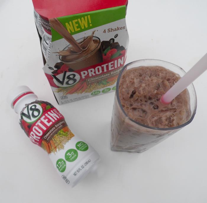 V8 protein drink