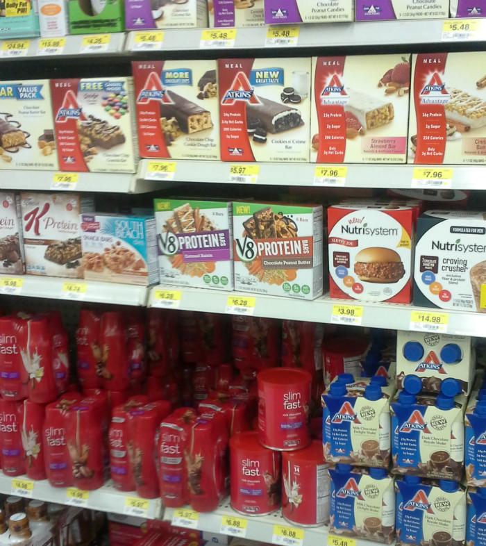 V8 protein in Walmart