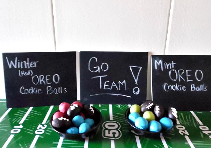 Go Team! OREO Cookie Balls for the Big Game #OREOCookieBalls #ad #CollectiveBias #cbias