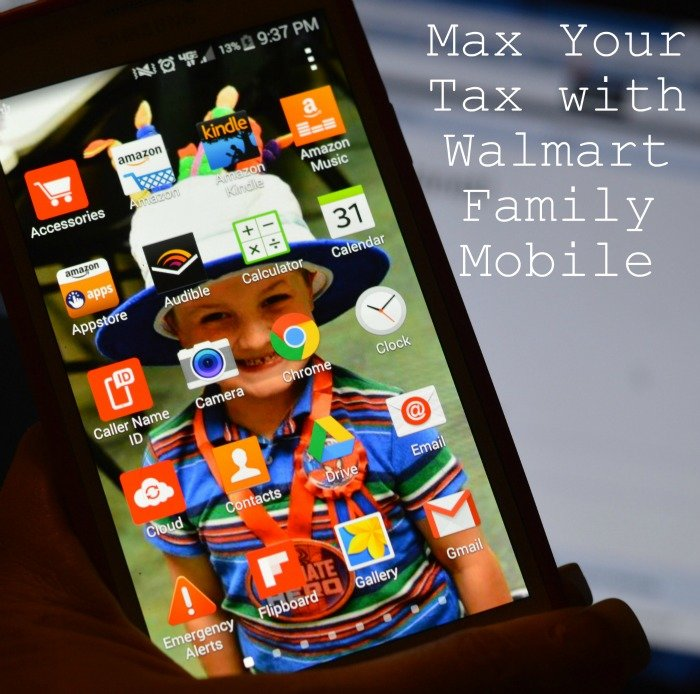 Max Your Tax with Walmart Family Mobile #MaxYourTax #ad #cbias