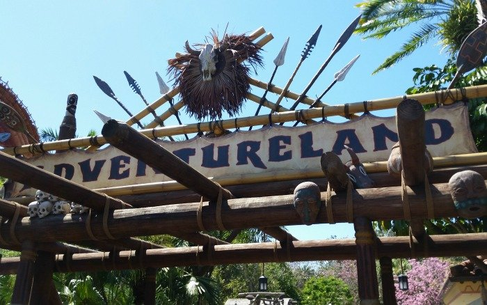 Adventureland at Disney World