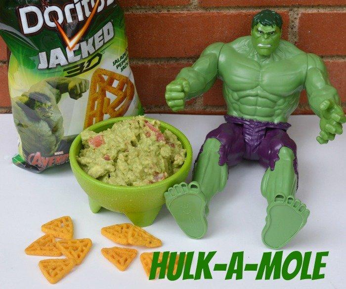 Hulk guacamole #AvengersUnite #ad #cbias