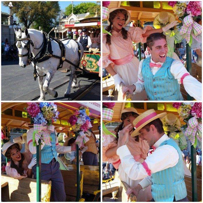 Spring parade at Disney World