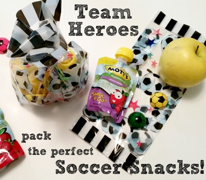 The Best Soccer Snacks #Motts #sponsored