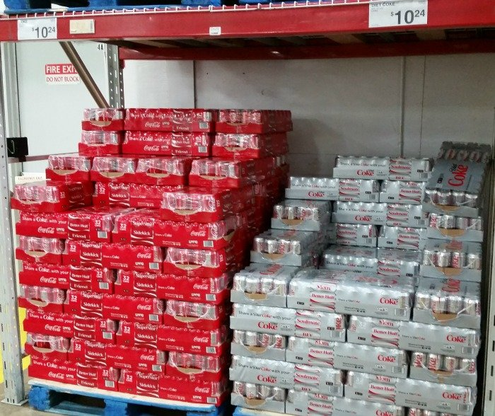 32 pack Coca Cola at Sams Club #ShareItForward #CollectiveBias #ad