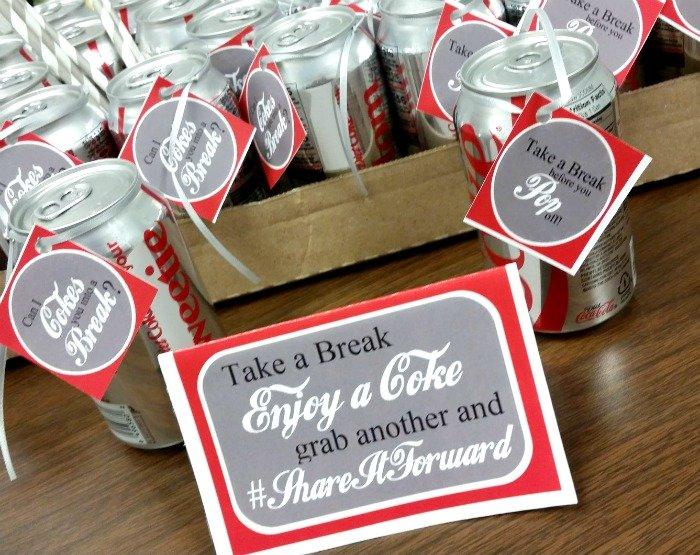 Take a Coke Break at work #ShareItForward #CollectiveBias #ad