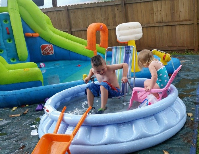 Enjoying watching the kids playing in the water thanks to Nexium #GiveHeartburnARest #CollectiveBias #ad