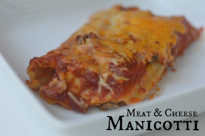 Meat & Cheese Manicotti #GiveHeartburnARest #CollectiveBias #ad