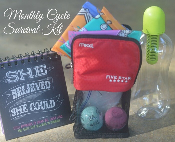 Monthly Cycle Survival Kit for Back to School #CycleSurvival #CollectiveBias [ad]
