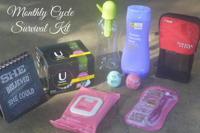 Monthly Cycle Survival Kit #CycleSurvival #CollectiveBias [ad]