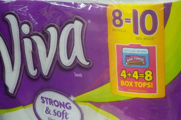 Viva for Box Tops for Education #ad #BTSLikeABoss
